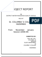 Water Project File