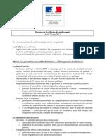 Mesures de la réforme du médicament - 23 06 11