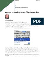 FDA Audit