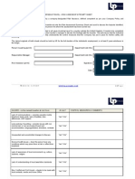 Travel Risk Assessment Summary and Prompt Sheets
