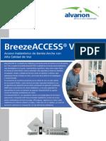 ALVARION - Breeze Access VL Datasheet Spanish