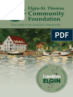 Elgin St. Thomas Community Foundation 2009