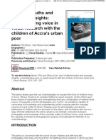 Unofficial Truths and Everyday Insights_ Understanding Voice in Visual Research With the Children of Accra's Urban