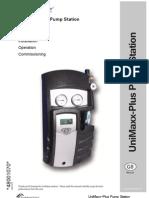 Installation Manual - UniMaxx-Plus Pump Station
