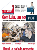 """Jornal """"Rui Falcão & Você"""" – 2ºsemestre/2007"""