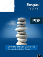Cyprus -The New Modern Hub for Investments Into Russia 2011