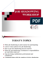 Shadowing Ppt