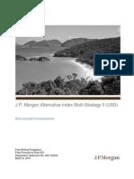 JP Morgan - Alternative Index Multi-Strategy 5