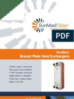 Product Brochure - Brazed Plate Heat Ex Changers