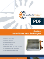 Product Brochure - Air to Water Heat Ex Changers