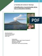 Caracterizacion Recursos Turisticos de Ometepe