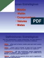 CGB - DEFINICIONES ESTRATEGICAS BASICAS