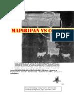 Masacre de Mapiripan vs Colombia Documentos de Prensa y Legales Referidos a La Masacre de Mapiripan Meta Colombia 1997 ion Deconstruct