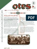 Club Notes 2011 Vol. 1