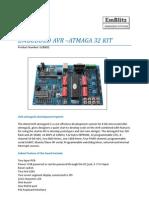 Embedded Avr-Atmega Kit