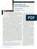 Diversity Journal | White Males Are Part of Diversity, Too! - May/June 2011