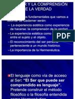 GADAMER Y LA COMPRENSI%D3N DE LA VERDAD. resumen(2)