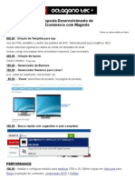 Proposta Loja Virtual Magento Patricia Toscano