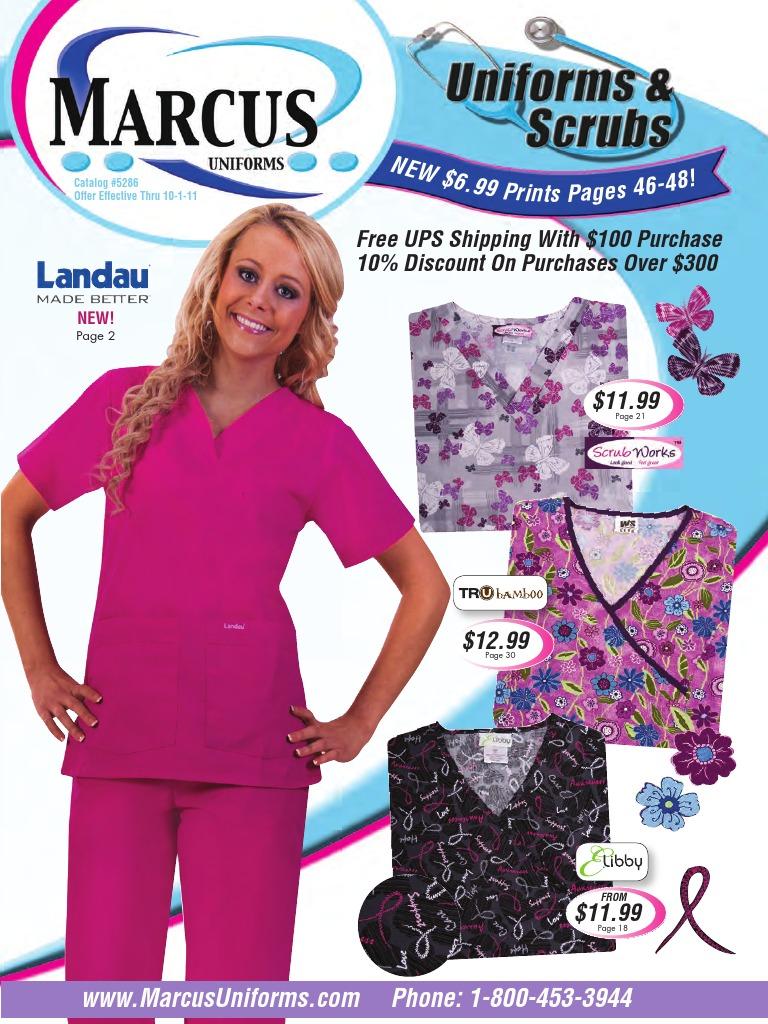 da74f0c258f 5286 Marcus Uniforms Nursing Scrubs Catalog | Seam (Sewing) | Watch