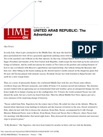 United Arab Republic_ the Adventurer -- 1958 -- Time
