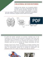 Compresor Helicoidal de Dos Rotores