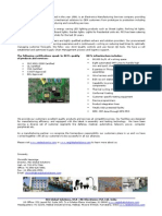 REI Electronics Pvt Ltd - Introduction