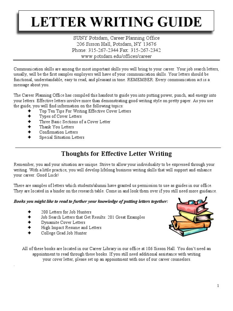 Letter Writing | Address (Geography) | Résumé