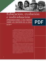 Educación evolucion individualizacion