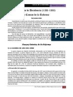 Causas de La Reforma