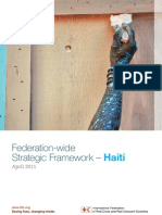 Federation-wide Strategic Framework for Haiti