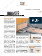 Schluter Kerdi Line Data Sheet