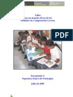 Banco de Estrategias Comprensión Lectora