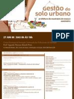 Gestão do Solo Urbano – Prefeitura do Município de Osasco