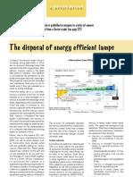 CFL Lamps Disposal Method