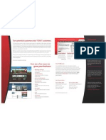 Web Design and Marketing Flyer