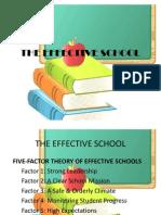 The Effective School