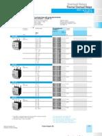 Siemens 3RU11 Overload Relays