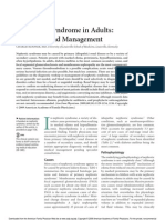 Nephrotic Syndrome in Adults 2009