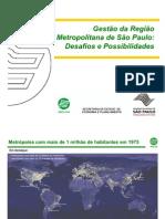 Gestão da Região Metropolitana de São Paulo