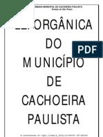 Lei_organica de Cachoeira Paulista
