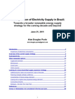 Diversifying the Renewable Energy Expansion Strategy in Brazil