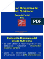 Evaluación Bioquímica del Estado Nutricional [Recuperado]