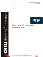 0S4 0000 00100H Chili Module Datasheet