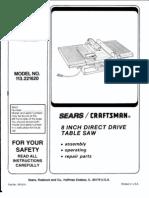 Craftsman Manual