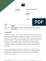 Draft Internal Security Strategy for the European Union Towards a European
