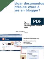 Induccion Blogger