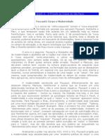 Foucault - Corpo e Modernidade