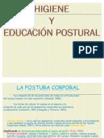 HIGIENE Y EDUCACIÓN POSTURAL