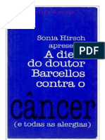 A Dieta Do Doutor Barcellos Contra o Cancer Sonia Hirsch