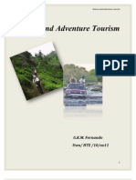 Nature and Adventure Tourism
